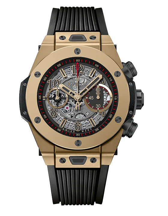 hublot big bang full magic gold orologio