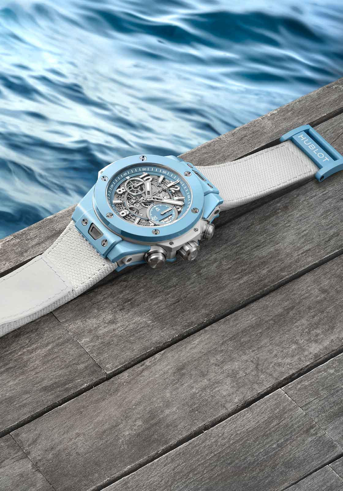 Repliche Hublot Big Bang Unico Sky Blue