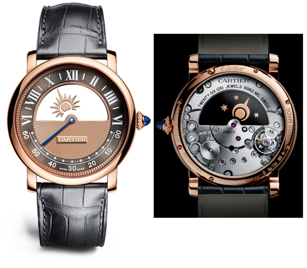 Replica Rotonde de Cartier Mysterious Day Night