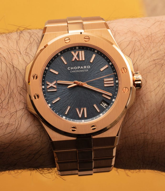 Replica Orologio Chopard Alpine Eagle 41mm In Oro Rosa 18k