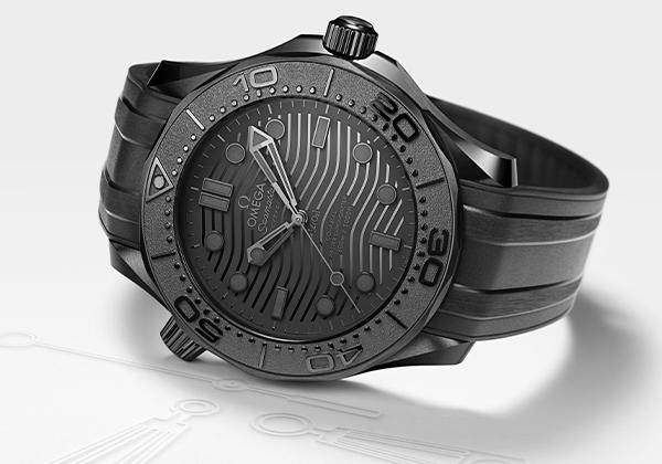 Repliche Omega Seamaster Diver Black