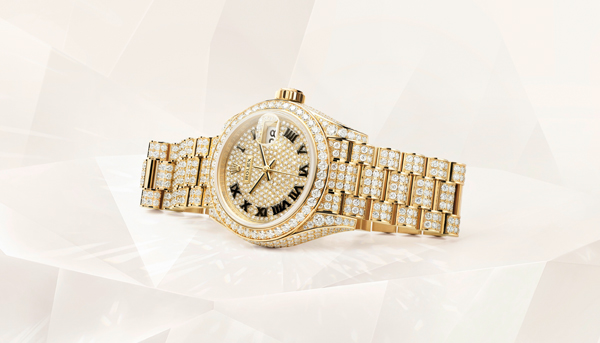 Rolex Datejust 28 Pavé Replica