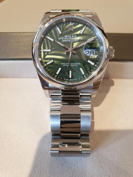 Rolex Datejust Verde 36 Replica